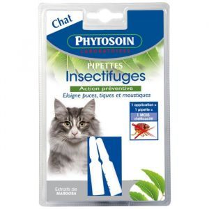 Phytosoin 095035 - Pipettes Insectifuges Chats - x 2