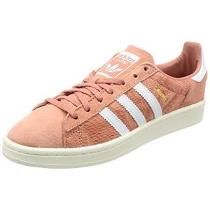 Adidas Campus W, Chaussures de Sport Femme - Différents Coloris - Multicolore (Rosnat/Ftwbla/Blatiz), 40 EU