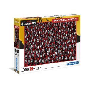 Clementoni Puzzle adultes netflix - la casa de papel - 1000 pièces impossible