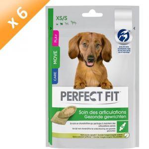 Perfect fit Lot de 6 Soins des articulations friandises - Pour mini et petit chien - 110 g