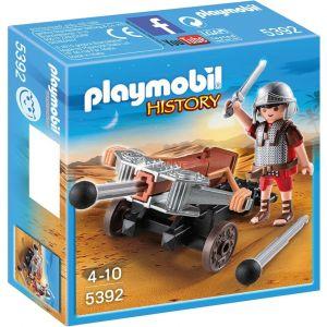Playmobil History 5392 - Légionnaire Romain avec baliste