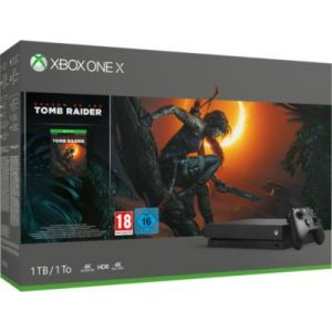 Microsoft Console Xbox One X 1 To Shadow of the Tomb Raider