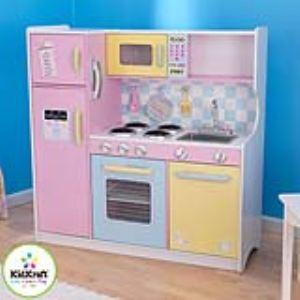 Grande cuisine bois jouet comparer 45 offres for Cuisine kidkraft auchan