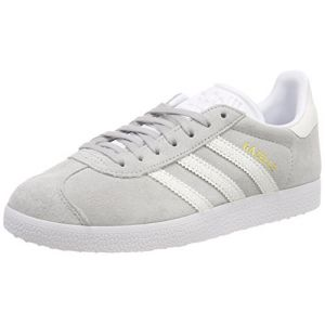 Adidas Gazelle W, Gris (Grey Two F17/Ftwr White/FTWR White Grey Two F17/Ftwr White/FTWR White), 39 1/3 EU