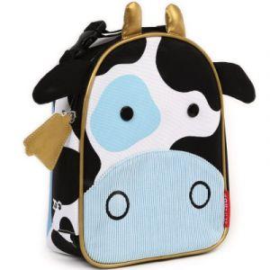 Skip*Hop ZOO Sac Isotherme en Forme Vache Multicolore