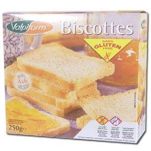 Valpiform Biscottes sans Gluten