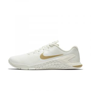 Nike Chaussure de training Metcon 4 Champagne Femme - Crème - Taille 42