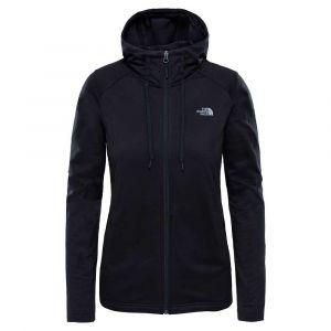 The North Face Women´s Tech Mezzaluna Hoodie - Veste polaire taille XS, noir