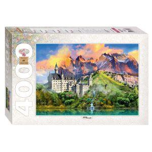 Step puzzle Château De Neuschwanstein, Allemagne - Puzzle 4000 pièces