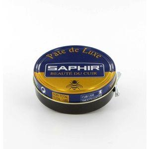 Saphir Cirage pâte de luxe Avel - Noir - Spécial glaçage
