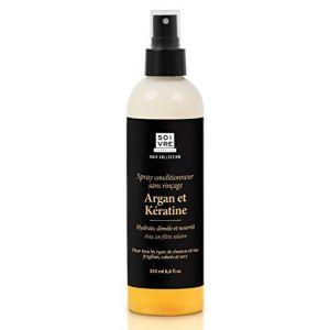 Soivre Argan et Kératine - Spray conditionneur sans rinçage