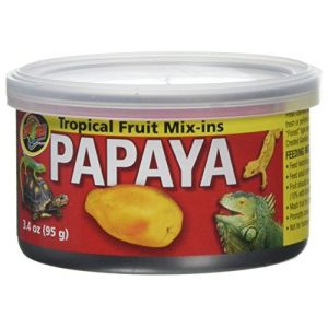 Zoo Med Conserve Tropical Mix-Ins Complément Papaye - 95g