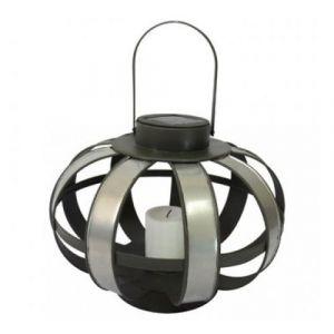 Mundus Lanterne solaire Zinc H20cm