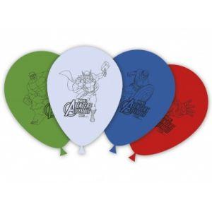8 ballons latex Avengers