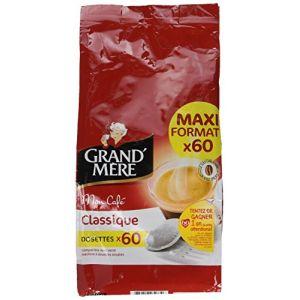 Kraft 60 dosettes Grand Mère Classique pour machines à dosettes souples