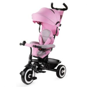 Kinderkraft Tricycle Évolutif ASTON rose - dès 9 mois