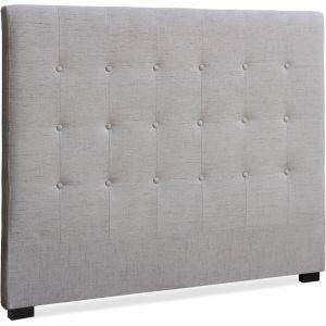 Tête de lit Luxor 140cm Tissu Beige Couleur - Beige