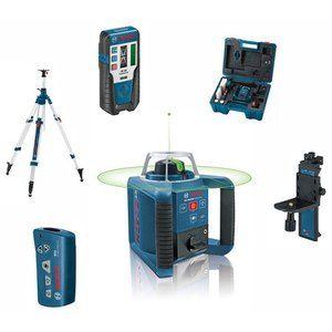 Bosch Professional GRL 300 HVG niveau laser rotatif - Pack intérieur avec trépied