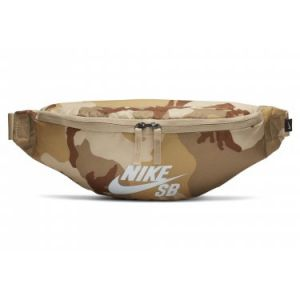 Nike Sac de ceinture de skateboard imprimé SB Heritage (Petits objets) - Marron - Taille ONE SIZE - Unisex