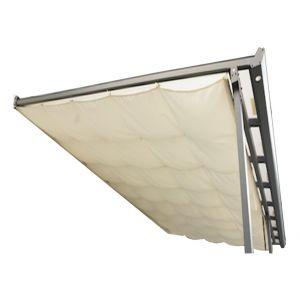 Habrita Rideau d'ombrage pour toit terasse 2,85 x 5,00 m - 14,25 m2
