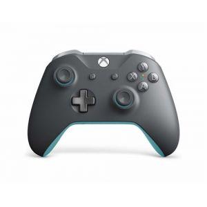 Microsoft Manette sans fil XboxOne Grise/Bleue