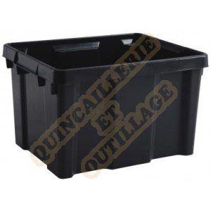 Eda Plastiques Bac Pro 30 L Gris Anthracite