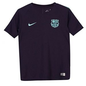 Nike T-shirt Maillot Barcelone Training 2018-19 violet - Taille 12 ans,14 ans