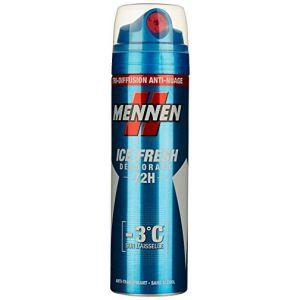 Mennen Déodorant Atomiseur Tri-Diffusion 72h Fresh 200 ml