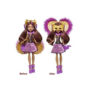 Mattel Poupée Monster High Transformation Clawdeen (FKP47)