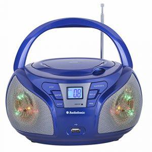 Audiosonic CD-1561 - Radio portable stéréo