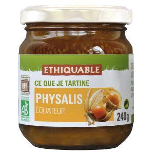 Ethiquable Confiture physalis Equateur BIO 240g