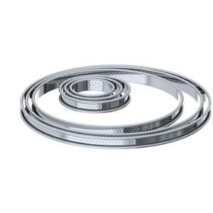 De Buyer 3093.06 - Cercle à tarte bords roule perfore (6 cm)