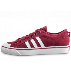 Adidas Chaussures NIZZA rouge - Taille 40,42,44,46,36 2/3,40 2/3,41 1/3,43 1/3,44 2/3,45 1/3