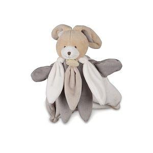 Doudou et Compagnie Doudou marionnette Lapin gris/blanc/beige