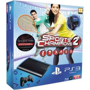 Sony PS3 Ultra Slim 12 Go + Pack découverte PlayStation Move + Sports Champions 2