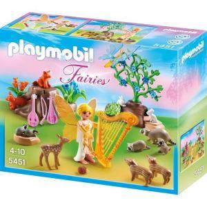 Playmobil 5451 Fairies - Fée Mélodie avec animaux de la forêt