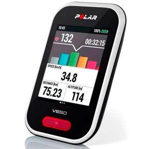 Polar V650 HR - Compteur vélo GPS