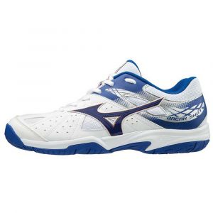 Mizuno Chaussures TBS Break Shot Blanc Bleu blanc - Taille 40,41,42,43,44,45,42 1/2