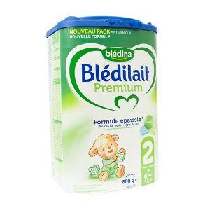 Blédina Blédilait Premium 2ème âge 800g - de 6 à 12 mois