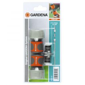 Gardena 18284-26 - Nécessaire de connexion pour tuyau d'arrosage Ø 19 mm