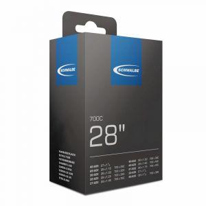 Schwalbe SV17EL Chambre à air 27X1 1/4 700X28C Valve Presta Noir 60 mm