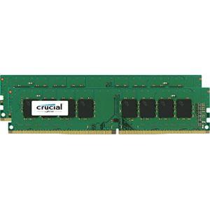 Crucial CT2K4G4DFS824A - Barrette mémoire DDR4 8 Go (2 x 4 Go) 2400 MHz CL17 SR X8