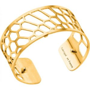 Les Georgettes Bracelet Nid d'abeille Or Medium