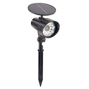 Royal Gardineer Spot solaire à LED avec détecteur de mouvement & témoin rouge clignotant