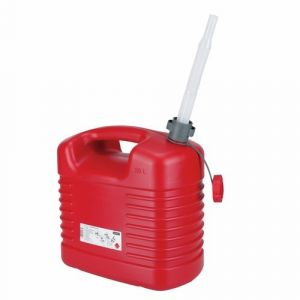 Jerrican PVC norme CE 20 litres rouge