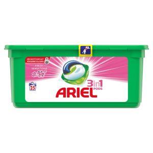 Ariel 25 doses de lessive Pods Fresh sensation 3 en 1