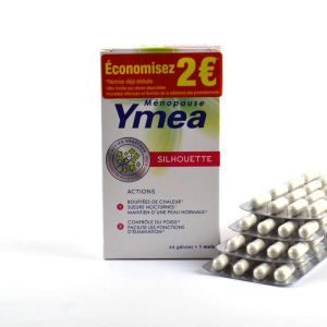 Yméa Ménopause et Silhouette - 64 gélules