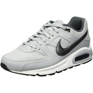 Nike Air Max Command Leather, Baskets Homme, Gris (Wolf Grey/Metallic Dark Grey-Black-White 012), 40.5 EU