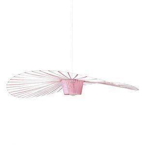 Petite friture Suspension Vertigo Small / Ø 140 cm - Edition spéciale 5 ans rose clair en matière plastique