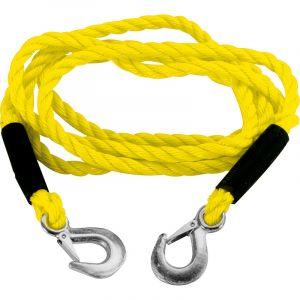 Carpoint Câble de remorquage 0178702 + crochets de sécurité - 3m x 14 mm - 3000kg